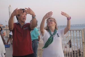 Master Li Junfeng &Daniella TT Sdot Yam Ceasarea 2015